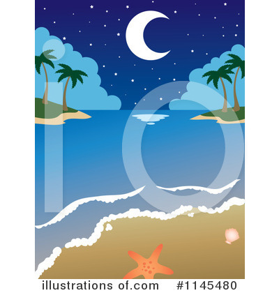 Beach Clipart #1145480 by Rosie Piter