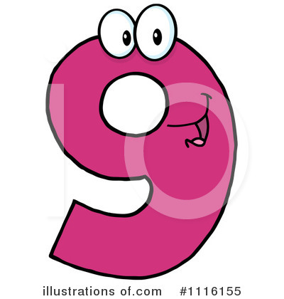 Number Clipart #1116155 by Hit Toon