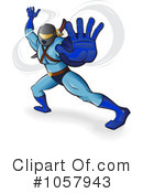 Royalty-Free (RF) Ninja Clipart Illustration #1057943