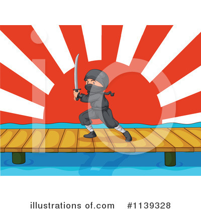 Ninja Clipart #1139328 by Graphics RF