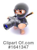Ninja Clipart #1641347 by Steve Young