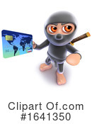 Ninja Clipart #1641350 by Steve Young