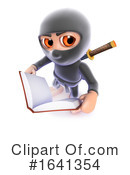 Ninja Clipart #1641354 by Steve Young