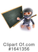 Ninja Clipart #1641356 by Steve Young