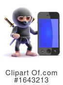 Ninja Clipart #1643213 by Steve Young