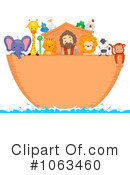 Royalty-Free (RF) Noahs Ark Clipart Illustration #1063460