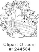 Noahs Ark Clipart #1244584 by visekart