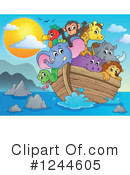 Noahs Ark Clipart #1244605 by visekart