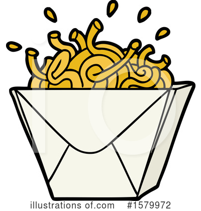 Royalty-Free (RF) Noodles Clipart Illustration by lineartestpilot - Stock Sample #1579972