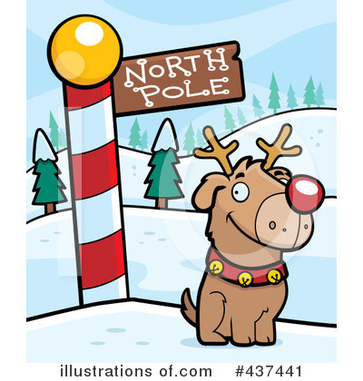 Rudolph Clipart #437441 by Cory Thoman