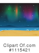 Royalty-Free (RF) Northern Lights Clipart Illustration #1115421