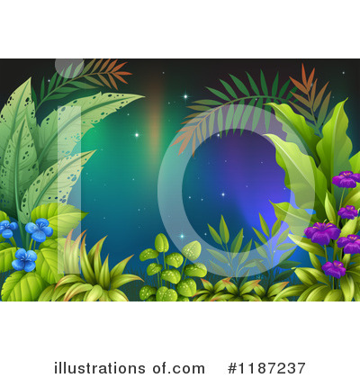 Northern Lights Clipart #1187237 by Graphics RF