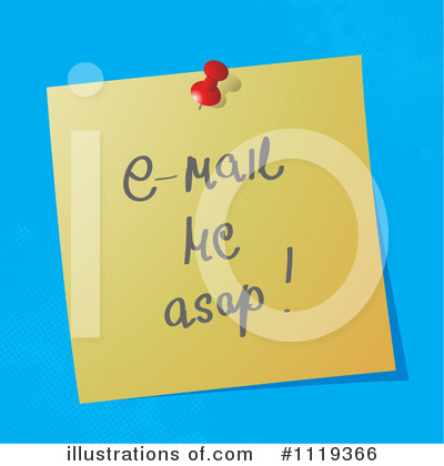 Email Clipart #1119366 by MilsiArt