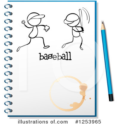 Royalty-Free (RF) Notebook Clipart Illustration by Graphics RF - Stock Sample #1253965