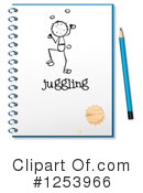 Notebook Clipart #1253966 by Graphics RF