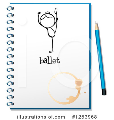 Ballerina Clipart #1253968 by Graphics RF