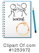 Notebook Clipart #1253972 by Graphics RF