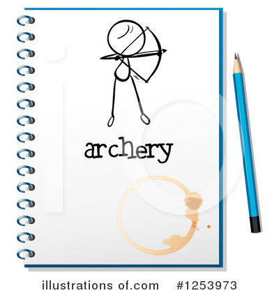 Archery Clipart #1253973 by Graphics RF