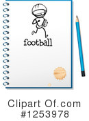 Notebook Clipart #1253978 by Graphics RF