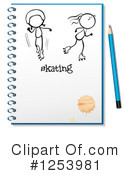 Notebook Clipart #1253981 by Graphics RF