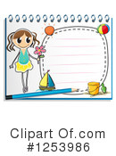 Notebook Clipart #1253986 by Graphics RF