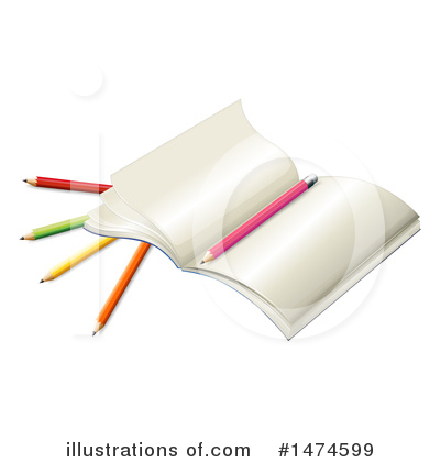 Notebook Clipart #1474599 by Graphics RF