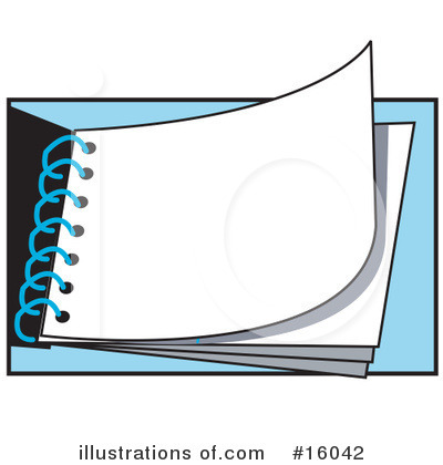 Notepad Clipart #16042 by Andy Nortnik