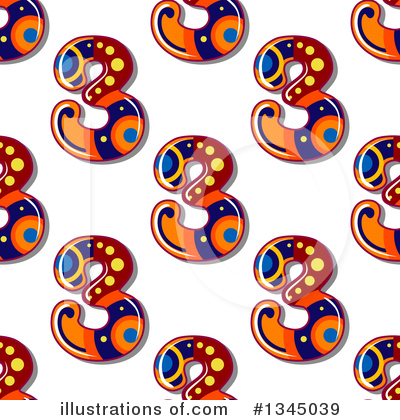 Numbers Clipart #1345039 by Vector Tradition SM