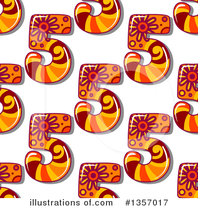 Numbers Clipart #1357017 by Vector Tradition SM