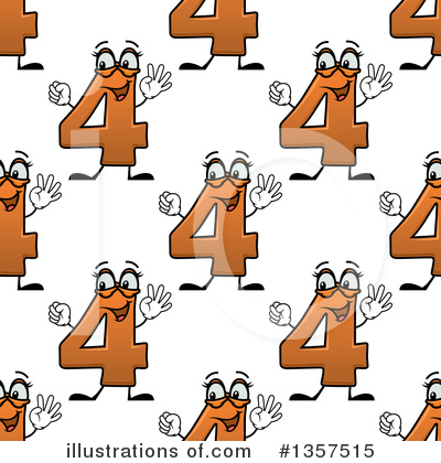 Numbers Clipart #1357515 by Vector Tradition SM
