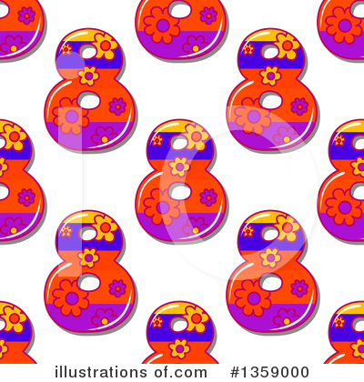 Numbers Clipart #1359000 by Vector Tradition SM