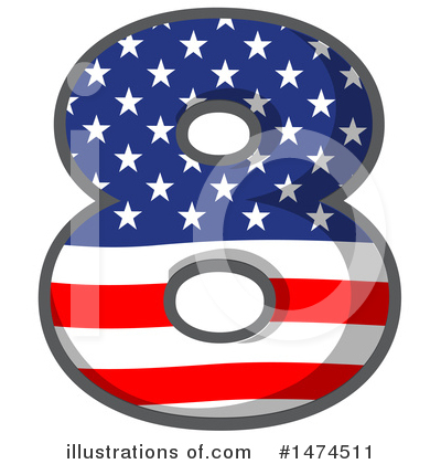American Number Clipart #1474511 by Graphics RF