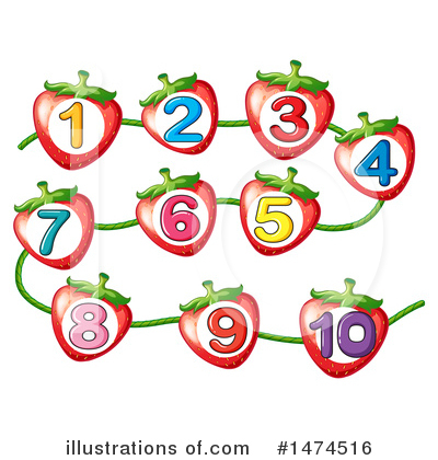 Royalty-Free (RF) Number Clipart Illustration by Graphics RF - Stock Sample #1474516
