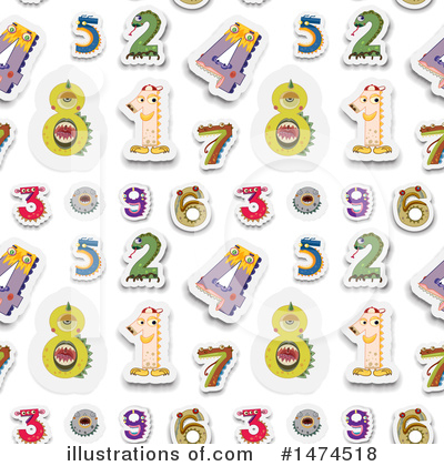 Numbers Clipart #1474518 by Graphics RF