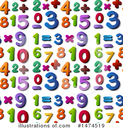Number Clipart #1474519 by Graphics RF