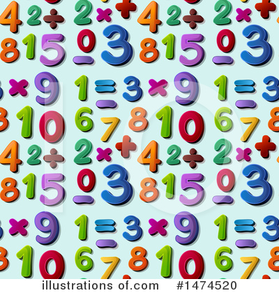 Numbers Clipart #1474520 by Graphics RF