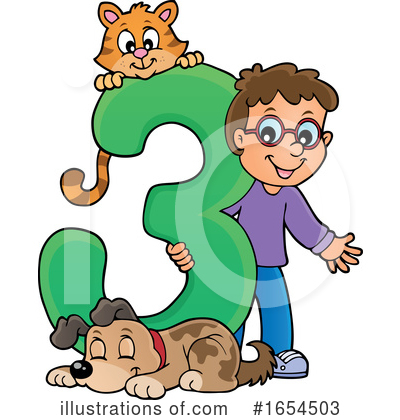 Number Clipart #1654503 by visekart