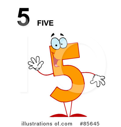 Five Clipart #85645 by Hit Toon