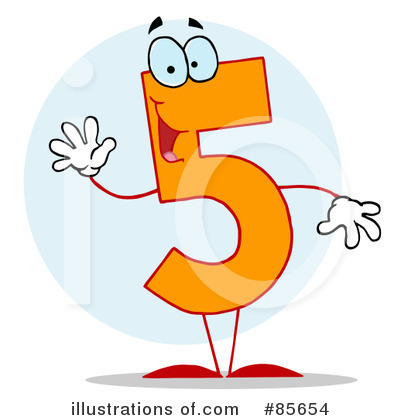 Five Clipart #85654 by Hit Toon