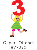 Number Kids Clipart #77395 by Prawny