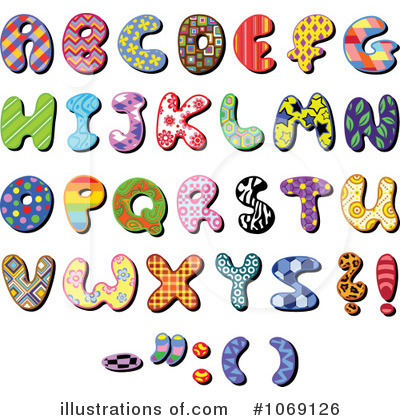 Letters Clipart #1069126 by yayayoyo