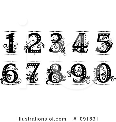 Five Clipart #1091831 by Vector Tradition SM