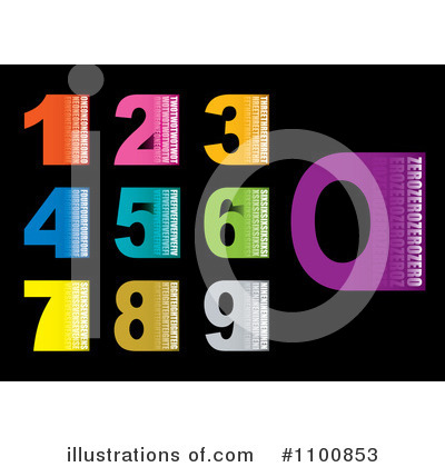 Numbers Clipart #1100853 by michaeltravers