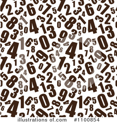 Numbers Clipart #1100854 by michaeltravers