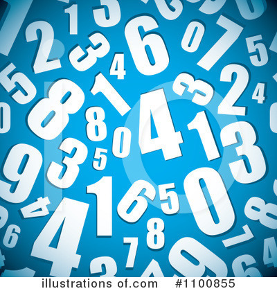 Numbers Clipart #1100855 by michaeltravers