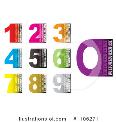 Numbers Clipart #1106271 by michaeltravers