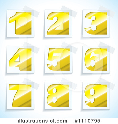 Number Clipart #1110795 by michaeltravers