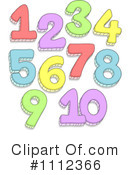 Numbers Clipart #1112366 by BNP Design Studio