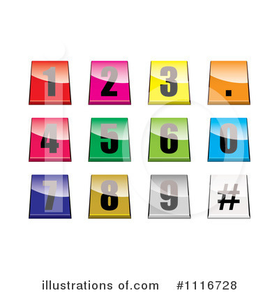 Numbers Clipart #1116728 by michaeltravers