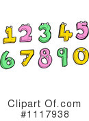 Royalty-Free (RF) Numbers Clipart Illustration #1117938